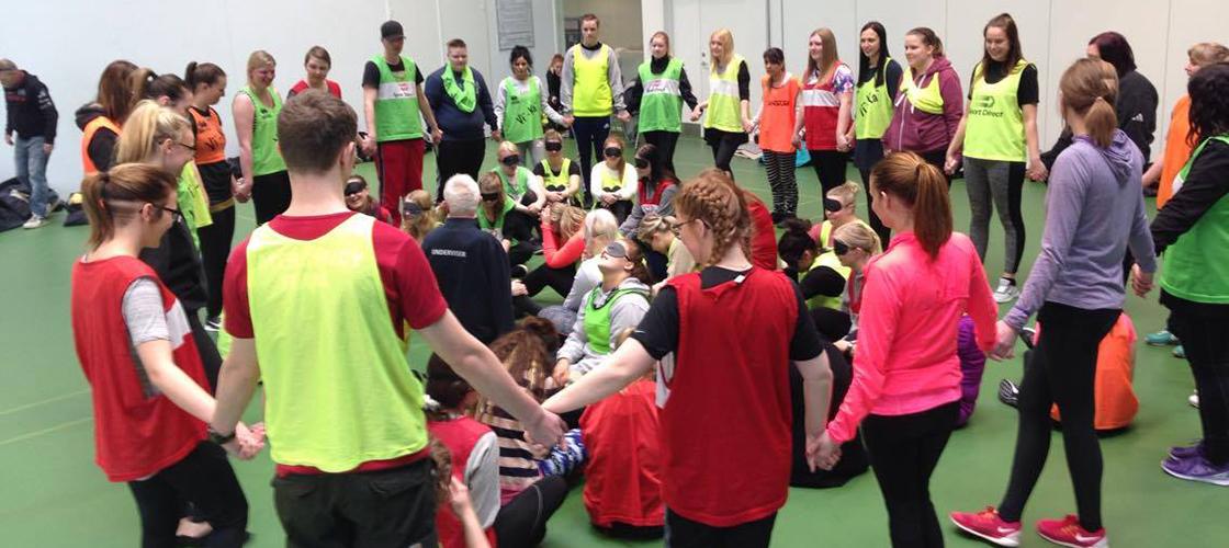 Leg, idræt og social samvær, som er meningsfuldt og underholdende.